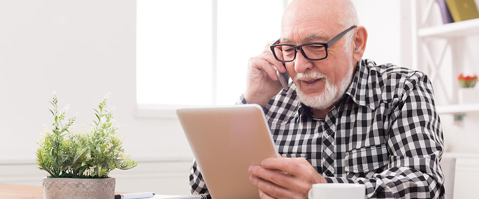 Canadian man getting aware of the common fraud scams aimed at retirees and ways to protect themselves.