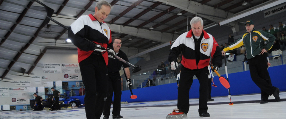 Curling is a very flexible sport that can be taken up by senior Canadians.