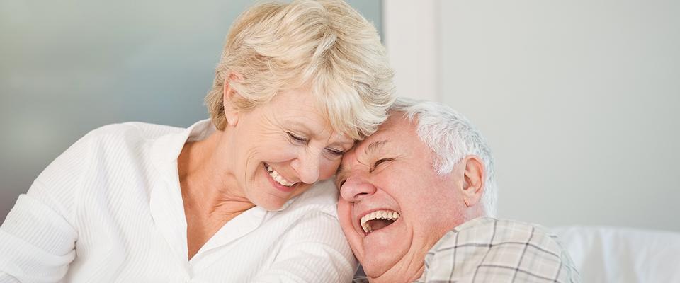 seniors living happy