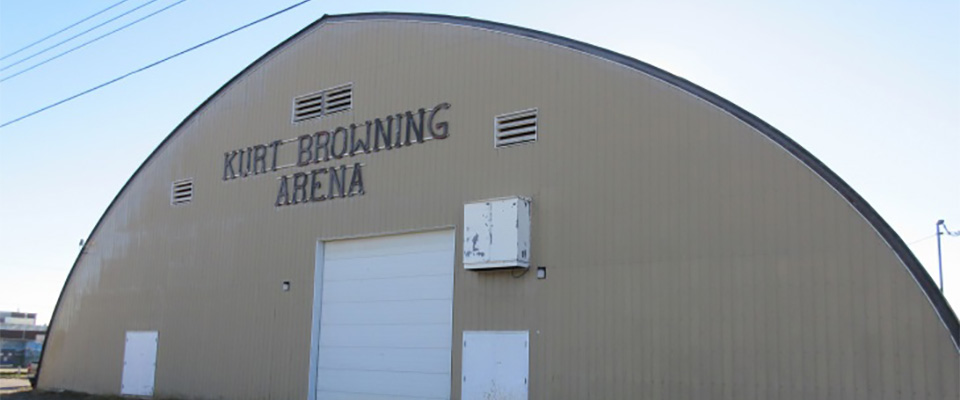 The arena where Kurt practiced figure skating in his hometown Caroline, Alberta has been renamed as Kurt Browning Arena.