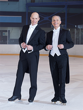 HomeEquity Bank, Canada's clear choice as their celebrity spokesperson in 2016, Kurt Browning teamed up with fellow figure skating personality Donald Jackson and dedicated their routine to HomeEquity Bank.