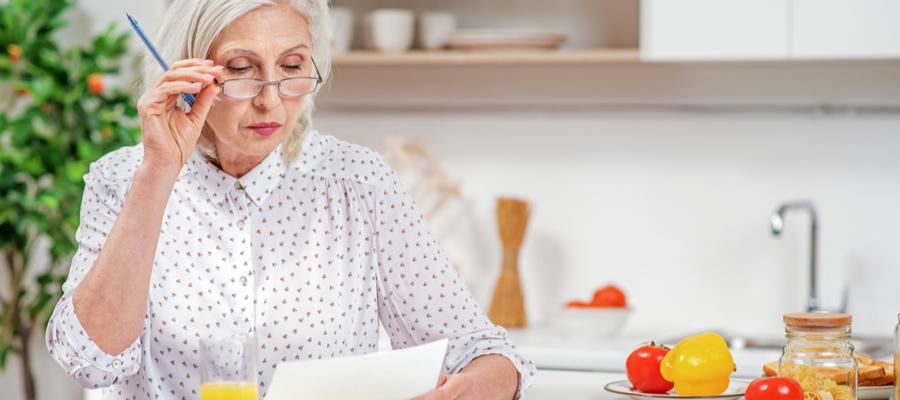 senior-woman-working-on-documents