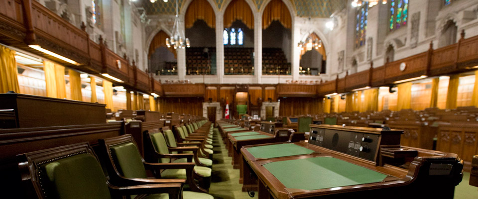 The view of the Canadian Parliament where GIS reforms for Canadian seniors in the 2016 Federal Budget were discussed.