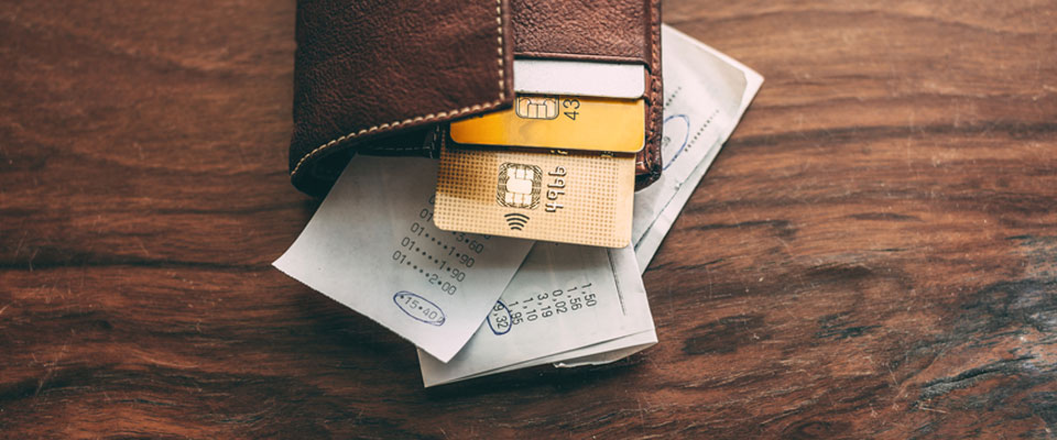 The wallets of most Canadians are stuffed with bills and credit cards and reflect the debt they are in.